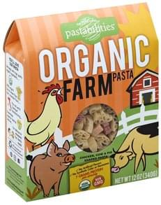 Pastabilities Pasta Organic, Farm Shapes