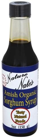 Nature Nates Organic, Amish Sorghum Syrup - 5 oz