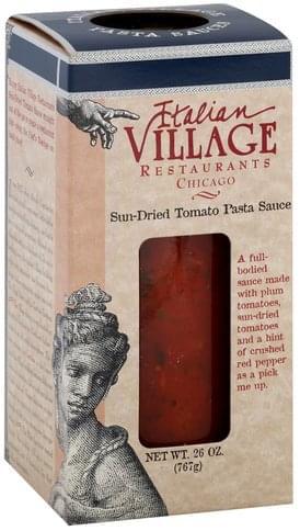 Italian Village Sun-Dried Tomato Pasta Sauce - 26 oz