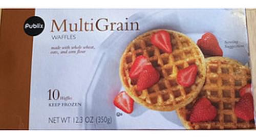 Publix Multigrain Waffles - 70 g