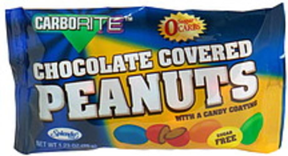 CarboRite with Candy Coating Sugar Free Chocolate Covered Peanuts - 1.23 oz