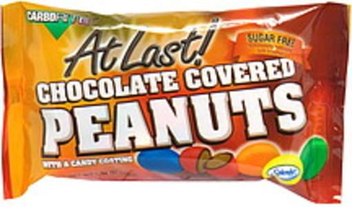 CarboRite Sugar Free Chocolate Covered Peanuts with a Candy Coating