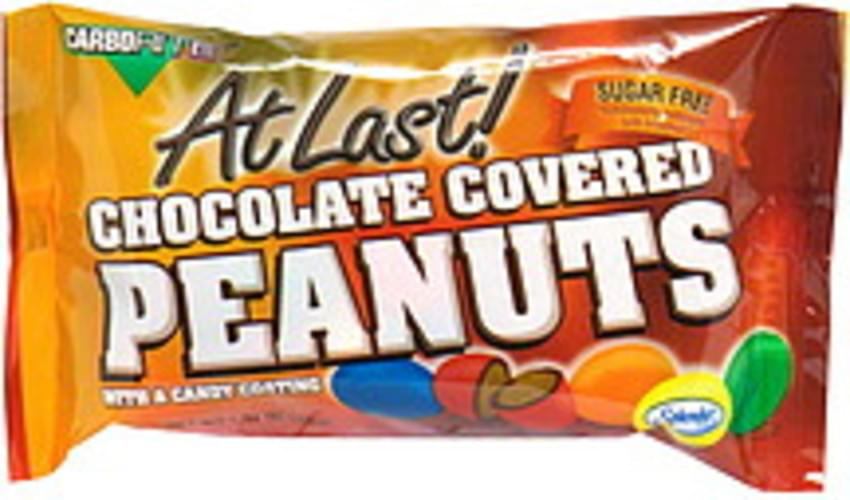 CarboRite with a Candy Coating Sugar Free Chocolate Covered Peanuts - 1.23 oz
