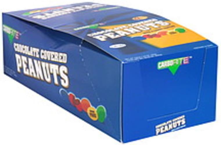 CarboRite with Candy Coating Sugar Free Chocolate Covered Peanuts - 24 ea