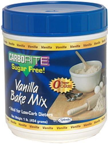CarboLite Sugar Free Vanilla Bake Mix - 1 lb