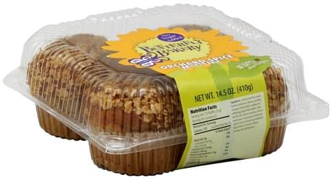 Butterfly Bakery Orchard Spice Muffins - 14.5 oz