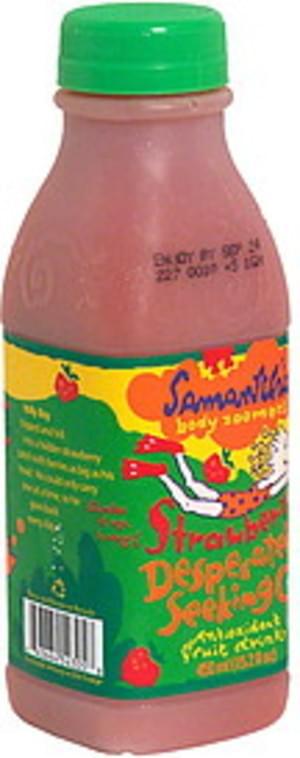 Samantha Fruit Drink, Desperately Seeking C, Strawberry - 15.2 oz