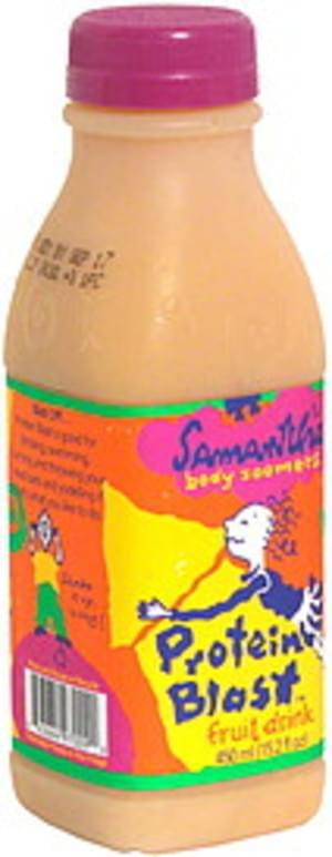 Samantha Fruit Drink, Protein Blast  - 15.2 oz