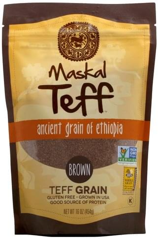 Maskal Teff Brown Teff Grain - 16 oz