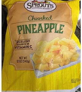 Sprouts Farmers Market Chunked Pineapple
