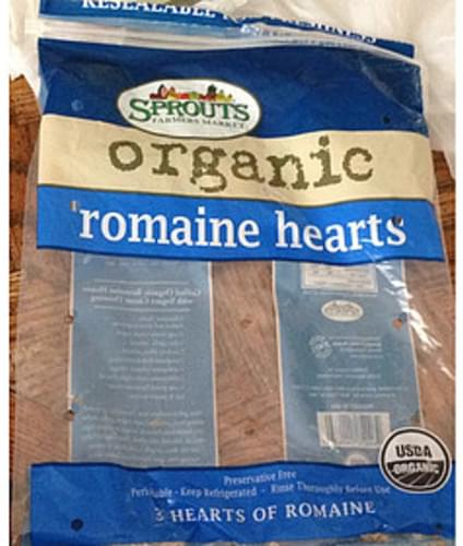 Sprouts Farmers Market Organic Romaine Hearts - 85 g