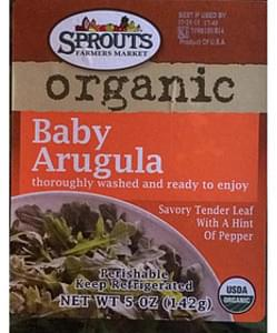 Sprouts Farmers Market Organic Baby Arugula
