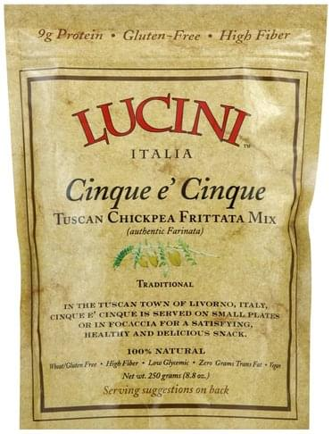 Lucini Tuscan Chickpea, Traditional Frittata Mix - 8.8 oz