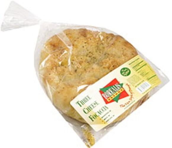 Borealis Breads Three Cheese Focaccia Bread 16 Oz Nutrition Information Innit