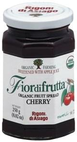 Fiordifrutta Fruit Spread Organic, Cherry