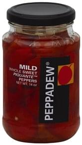 Peppadew Piquante Peppers Whole Sweet, Mild