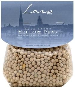 Lars Own Yellow Peas