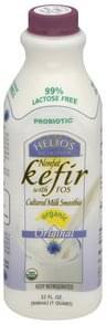 Helios Kefir Nonfat, with FOS, Organic, Original