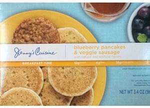 Jenny's Cuisine Blueberry Pancakes & Veggie Sausage