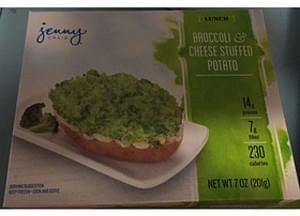 Jenny Craig Broccoli & Cheese Stuffed Potato