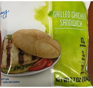 Jenny Craig Grilled Chicken Sandwich