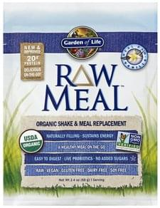 Garden of Life Shake & Meal Replacement Organic, Real Raw Vanilla