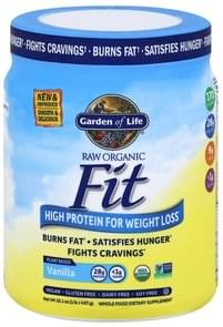Garden of Life High Protein Shake for Weight Loss, Organic, Vanilla