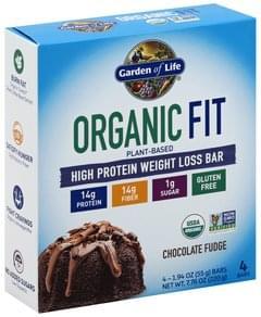 Garden Of Life High Protein Bar Weight Loss, Chocolate Fudge