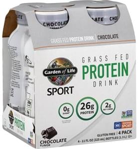Garden Of Life Protein Drink Chocolate, 4 Pack