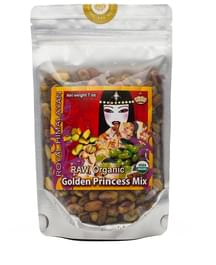 Divine Organics Organic Raw Pistachios and Raisins Golden Princess Mix