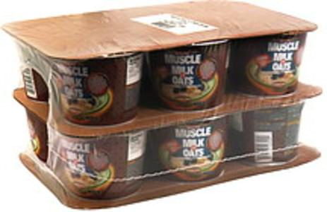 Muscle Milk Muscle Milk 'n Oats Instant, Breakfast Cocoa