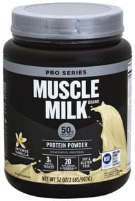 Muscle Milk Protein Powder Intense Vanilla