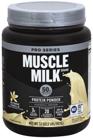 Muscle Milk Intense Vanilla Protein Powder - 32 oz