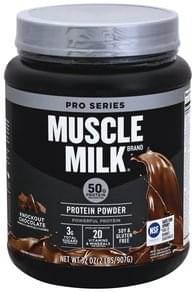 Muscle Milk Protein Powder Knockout Chocolate