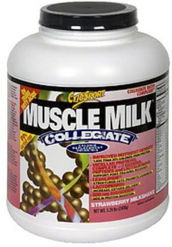 Muscle Milk Strawberry Milkshake Calorie Replacement Drink Mix - 5.29 lb