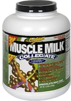 Muscle Milk Calorie Replacement Drink Mix Chocolate Mint Chip