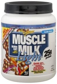 Muscle Milk Lean Muscle Formula Lower Calorie, Vanilla Creme