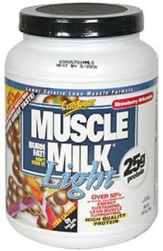 Muscle Milk Lower Calorie Lean Muscle Formula Strawberry Milkshake
