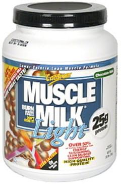 Muscle Milk Lower Calorie Lean Muscle Formula Chocolate Mint