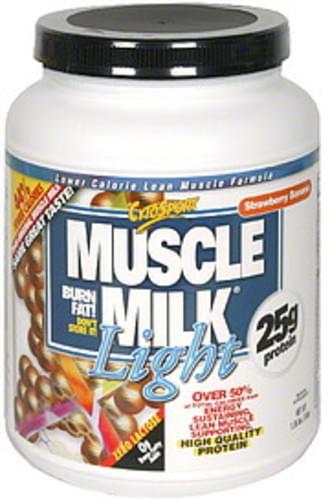 Muscle Milk Strawberry Banana Lower Calorie Lean Muscle Formula - 1.65 lb