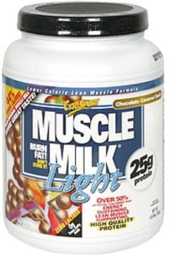 Cytosport Muscle Milk Lower Calorie Lean Muscle Formula,  Chocolate Caramel Swirl
