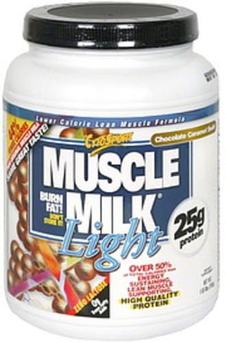Cytosport Lower Calorie Lean Muscle Formula,  Chocolate Caramel Swirl Muscle Milk - 1.65 lb