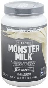 Cytosport Protein Supplement Mix Monster Milk, Vanilla Bean