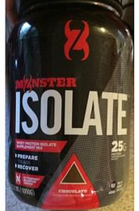 Cytosport Monster Series Whey Protein Isolate Supplement Mix Chocolate