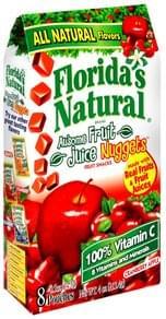 Floridas Natural Fruit Snacks Cranberry Apple