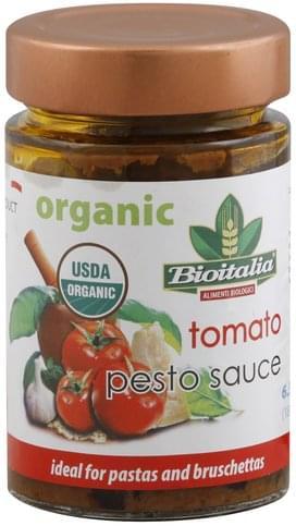 Bioitalia Tomato Pesto Sauce - 6.35 oz