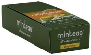 Tea Forte Mints All Natural, Ginger Pear
