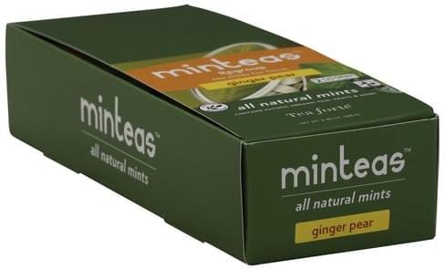 Tea Forte All Natural, Ginger Pear Mints - 6.45 oz