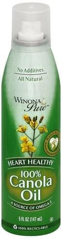 Winona Pure 100% Canola Oil - 5 oz