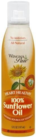 Winona Pure 100% Sunflower Oil - 5 oz